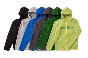 fleece zip up hoody