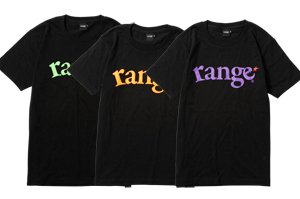 range logo neon print