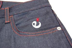 range denim pants