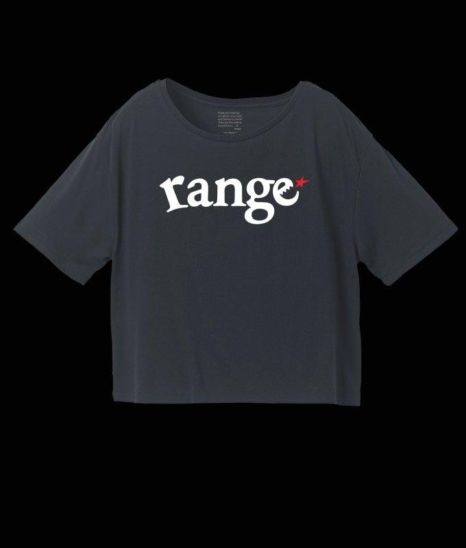 【Ladies】range logo short length s/s teeの商品イメージ