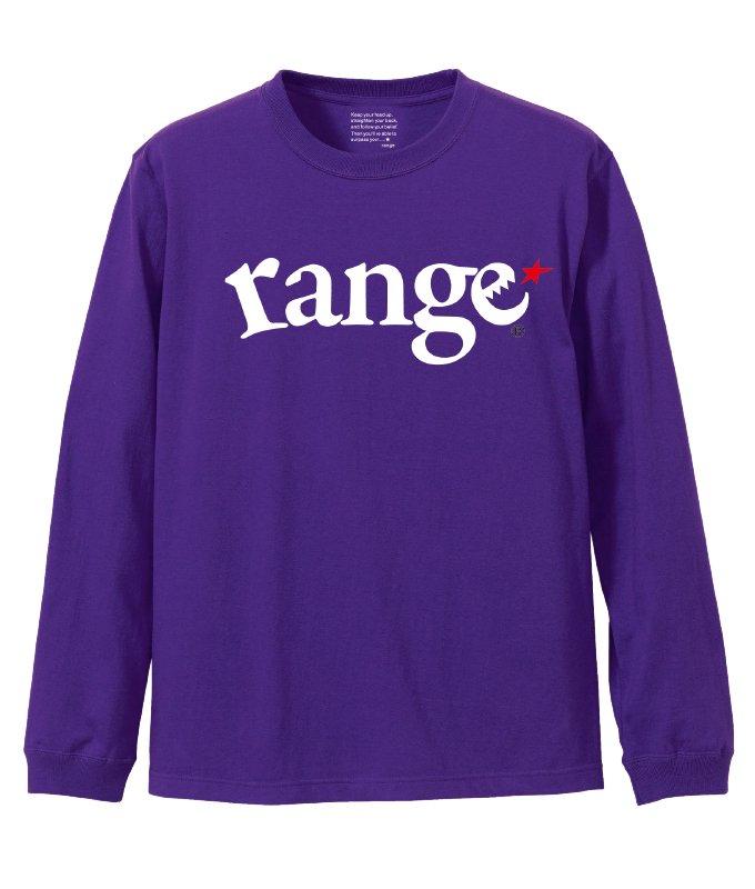 range logo l/s tee