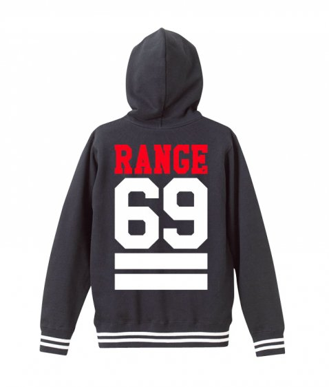 69 is ROCK Lib stripe hoody