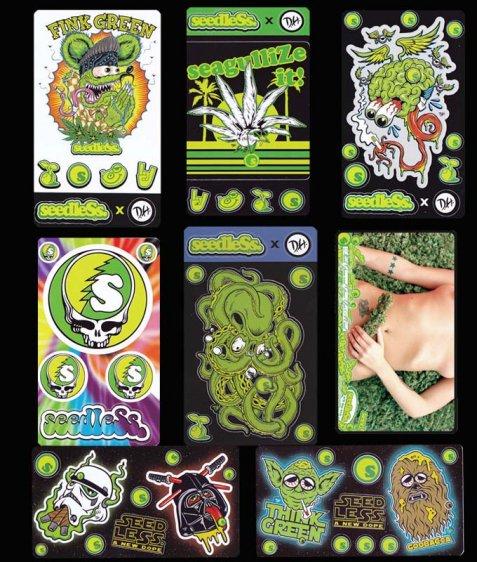 sticker sheet series 2015