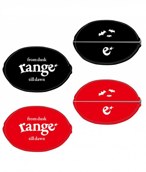 range rubber coin case
