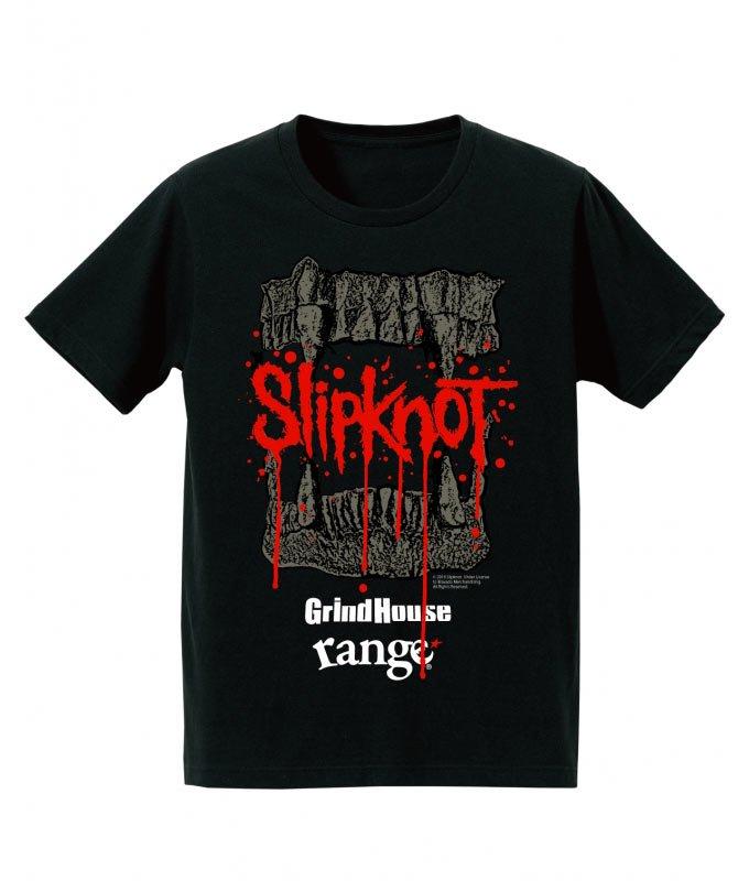 GrindHouse × range × SLIPKNOT  Special Limited Tシャツの商品イメージ