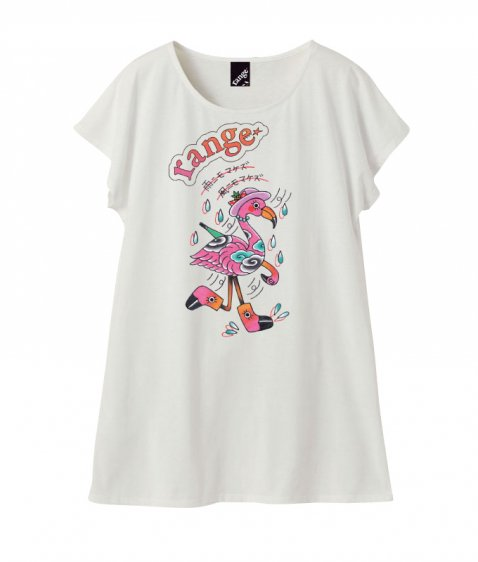 「Ladies」framingo T shirts one piece