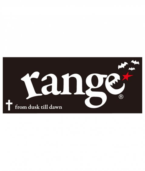 range cross&bat towel