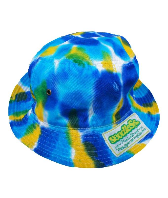 sd newhattan tie dye bucket hat