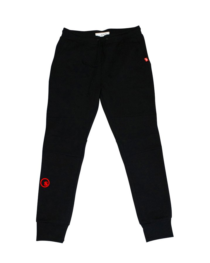CityLAB black&gray sweat Jogger pantsの商品イメージ