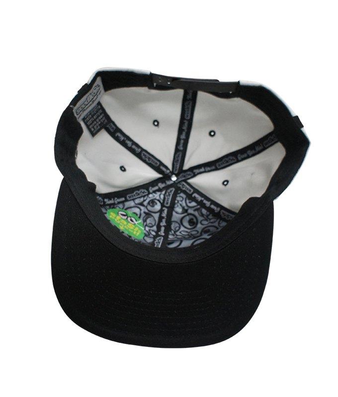 7 panel snap back cap