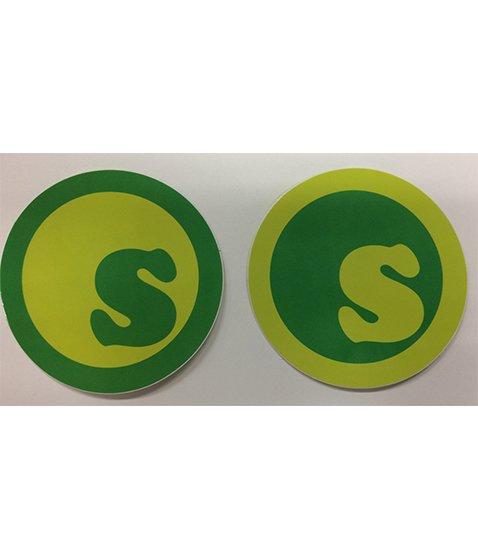 s-dot sticker 14.5