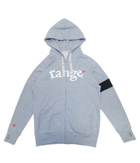 range  color combination zip hoody