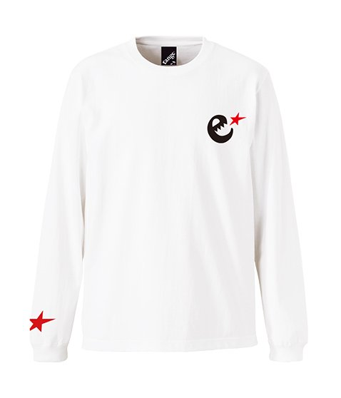 rg heavy weight 7.1oz red star LS tee