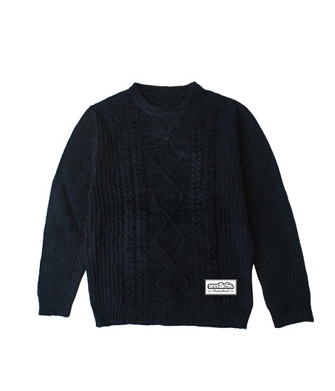 acrylic knit sweater