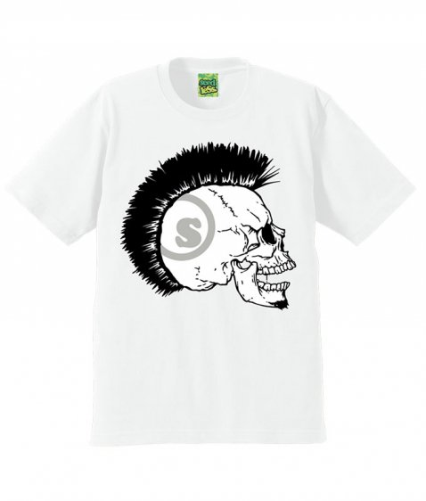 MOHICAN SKULL s/s T shirts