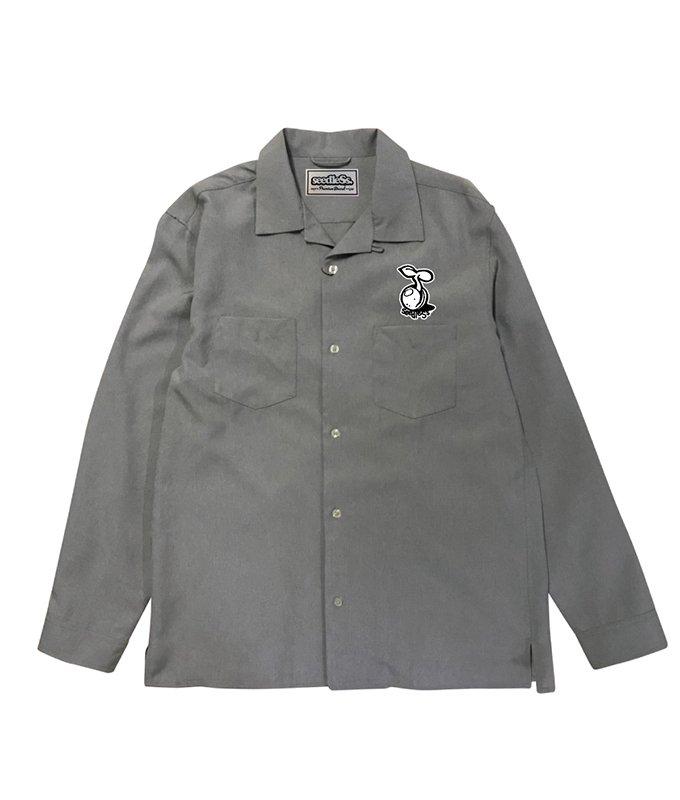 sd open collar LS shirtsの商品イメージ