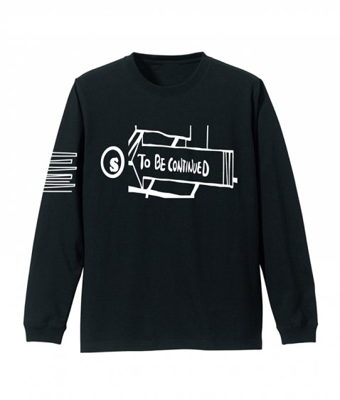 to be continued L/S tee
