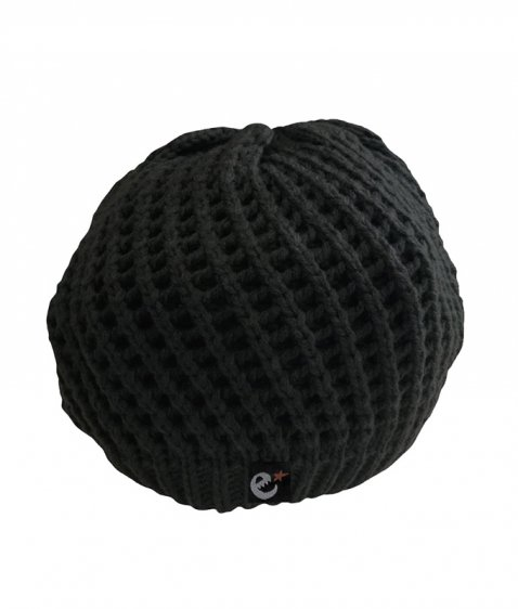 rg New Hattan knit beret hat