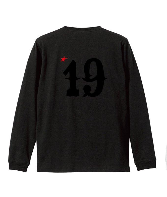 rg No.19 L/S tee