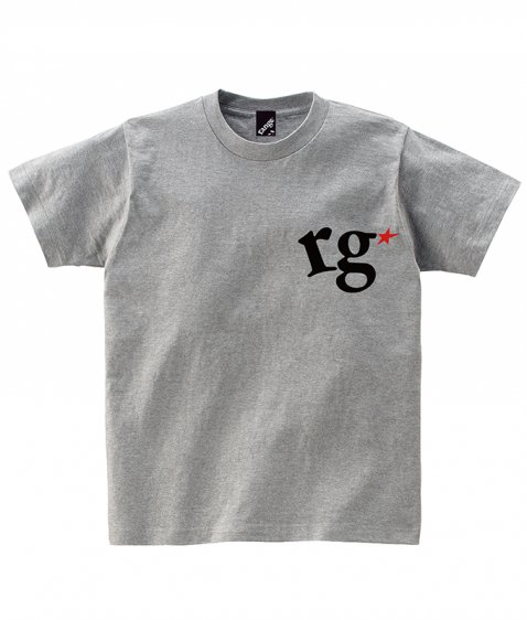 rg logo with big star s/s tee