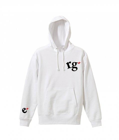 rg logo with big star hoody