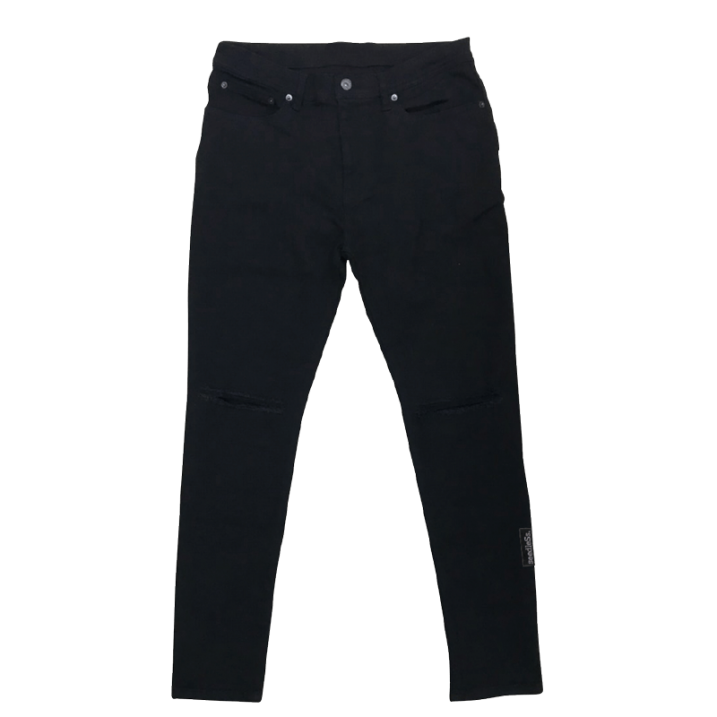 sd stretch skinny black denim pantsの商品イメージ