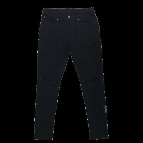 sd stretch skinny black denim pants