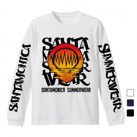 SANTAMONICA SUNSET L/S TEE