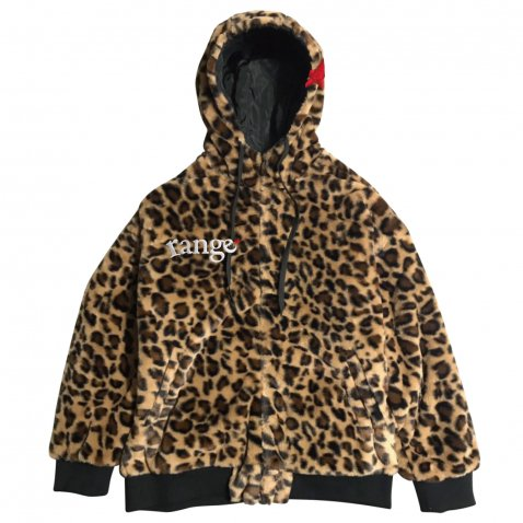 rg animal zip up hoody jkt