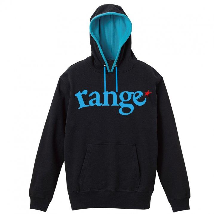 range logo pull over hoody spot colorの商品イメージ