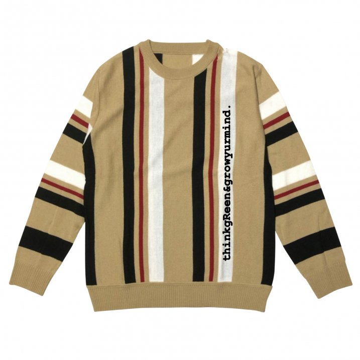sd stripe crew knitの商品イメージ