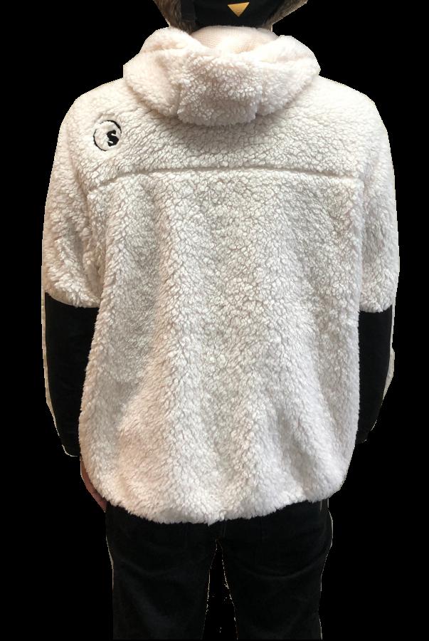 sd nylon boa fleece 3way jkt