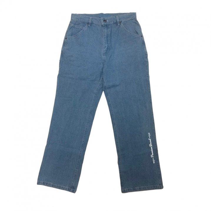 sd wide carpenter denim pants