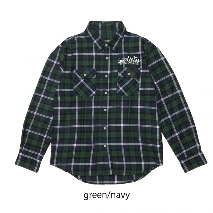 sd raised check nel shirtsの商品イメージ