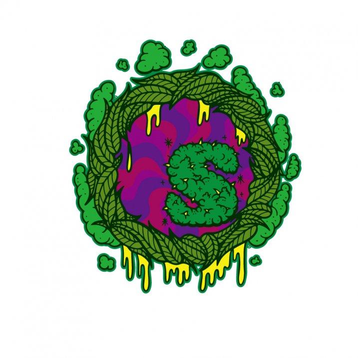 sd fluorescence leef hoody