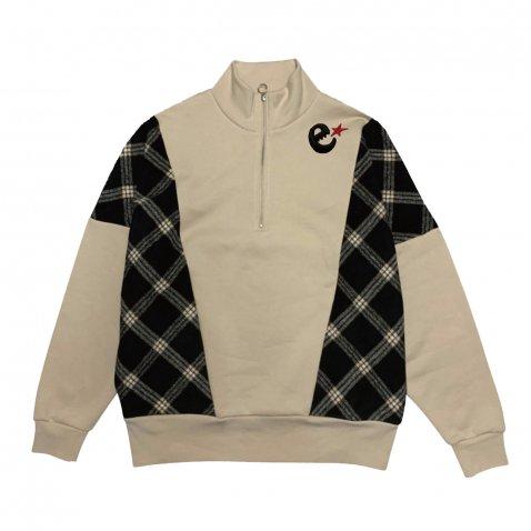 rg over size checker zip crew