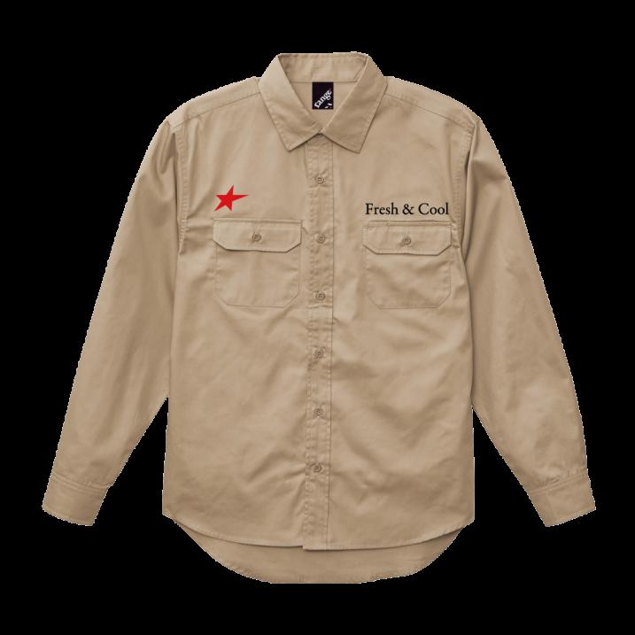 rg work L/S shirtsの商品イメージ