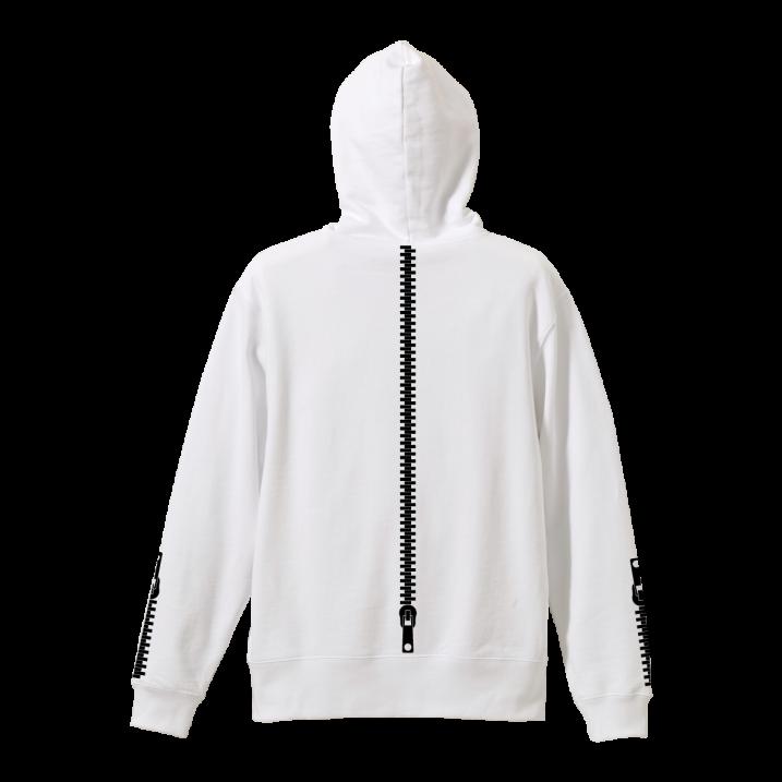 rg back side zipper hoodyの商品イメージ