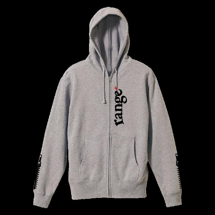 rg back side zipper hoody
