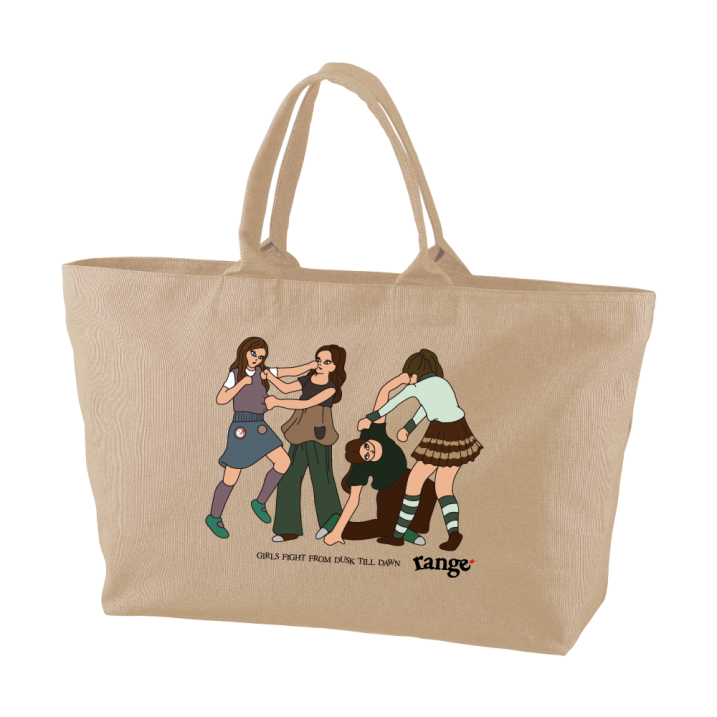 Girls Fight ! tote bagの商品イメージ