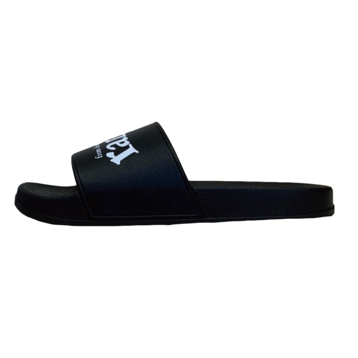 rg  flipped logo sandals