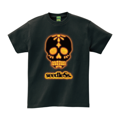 sd light up skull s/s tee
