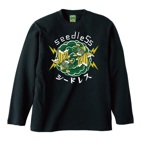 Green goldfish L/S tee
