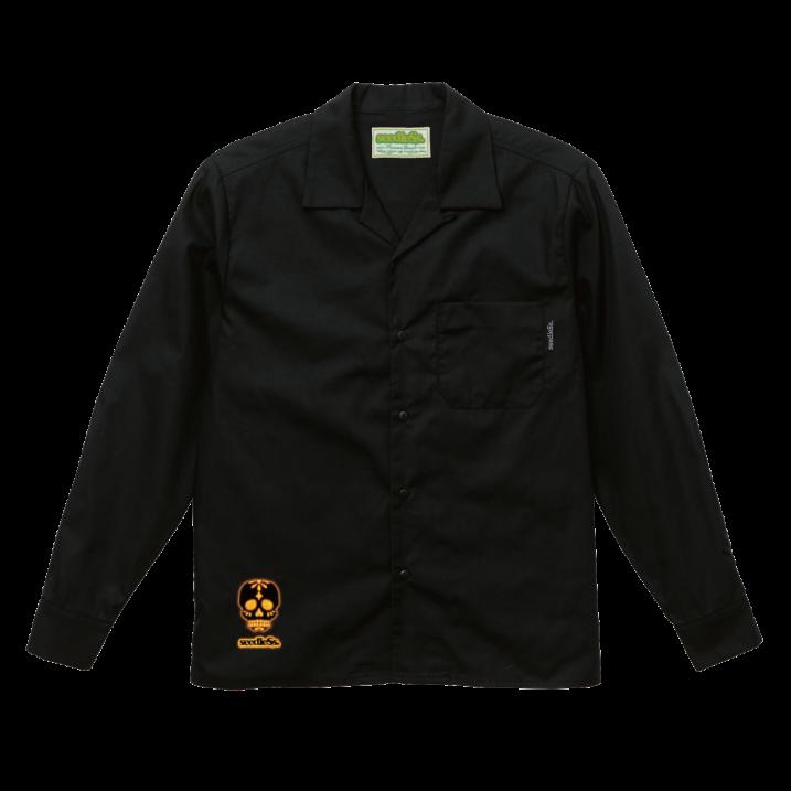 sd T/C open collar L/S shirtsの商品イメージ