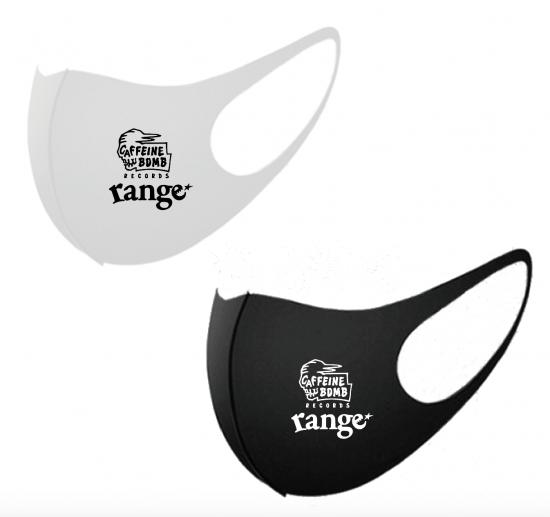 CAFFEINE BOMB X rangeコラボ エチケットマスクの商品イメージ