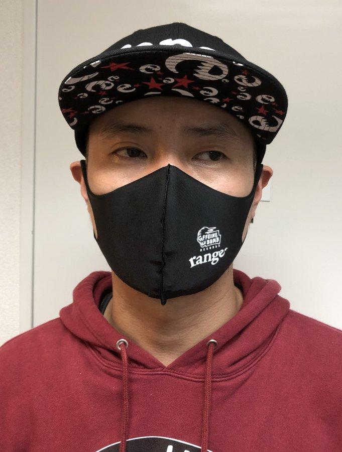 CAFFEINE BOMB X rangeコラボ エチケットマスク