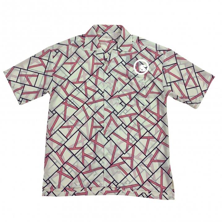 Pattern open collar shirtsの商品イメージ