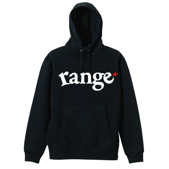 range logo pull over hoodyの商品イメージ