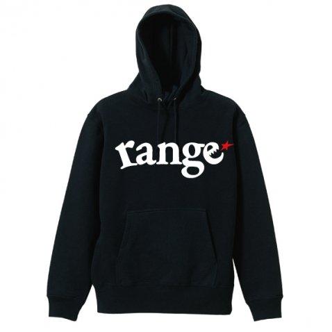 range logo pull over hoody