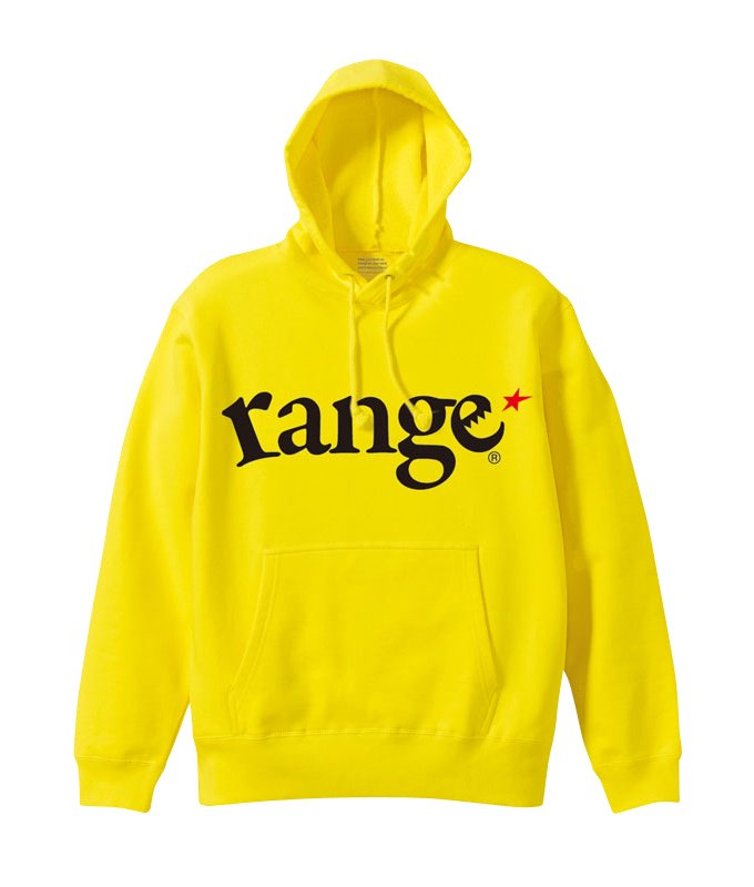 range logo pull over hoody colorsの商品イメージ